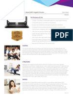 Netgear R8000 Nighthawk X6 AC3200 802.11ac Tri-Band Wireless Router Datasheet