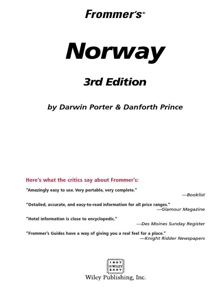 b118faf3d01 Frommer s - Norway