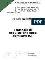 Manuale Applicativo Strategie Di Acquisizione Delle Forniture Ict