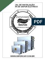 Manual Sauna Vapor
