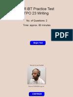 23 Writing