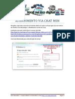 ATENDIMENTO VIA CHAT MSN - Revisado.pdf