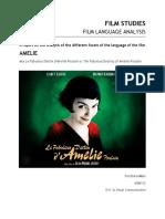 Amelie Film Language Analysis