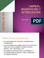 Limpieza, Desinfeccion y Esterilizacion