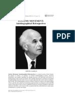 Systems Movement - Autobiographical Retrospectives - Ervin Laszlo