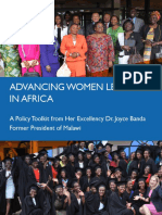 Advancing Women Leaders in Africa