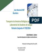 Apresentacao Transporte Projeto Nat Joao Junior