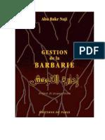 Manual de Gestión de La Barbarie - DAESH