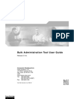 Bulk Administration Tool User Guide