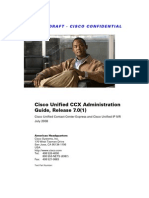 Cisco Unified CCX Administration Guide,