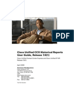 Cisco Unified CCX Historical Reports User Guide