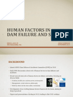 Human Factors in Dam Failure and Safety