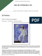 Zé Pilintra _ Orixás e Entidades Da Umbanda e Do Candomblé
