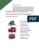 Reglamento de Transporte de Carga