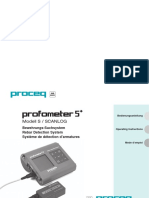 Manual De Protec, Durómetro Digital