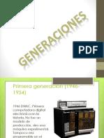 Generaciones de la computadoras.