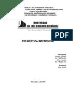 Estadística Inferencial Keliberth y Hendrys