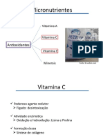 Vitaminas e Homeopatia