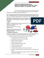 Programa de Seguridad Construcciones III