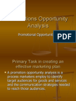 Promotions Opportunity Analysis.ppt integrated marketing communication