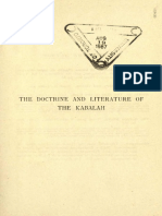 A.E. Waite - The Doctrine and Literature of the Kabalah
