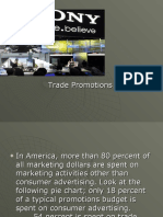 Trade Promotions in integrated marketing communication