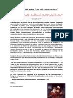 Biografía del autor LAS MIL Y UNA NOCHE.docx