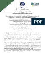 Coloquio-2013- TEMPERATURA DE USINAGEM DO TORNEAMENTO DA LIGA DE Ti-6Al-4V UTILIZANDO O MÉTODO DO TERMOPAR FERRAMENTA-PEÇA