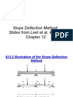 Slope Deflection