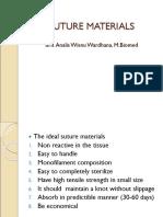 Interne bedah umum Suturematerials