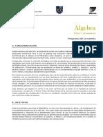 Álgebra Fce