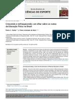 Artigo- Crescendo e Enfraquecendo- Os Rumos Da Educação Fisica Escolar No Brasil