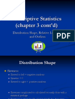 Ch3- BOTH 2nd Part-Descriptive Statistics- Distribution Shape