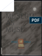 mcshine kynaston the museum as muse artists reflect 1999 museum