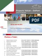 Presentación de DUPONT Chungar 3-Jul-2012