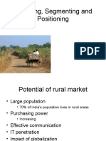 Targeting, Segmenting and Positioning in Rural Marketing