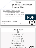 Final Law Ipr Copyright Without Iipm
