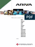 Ariva ALL Manual CZ v9