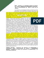 Concepto Propiedad Privada - Territorios Colectivos. 24.07.2006