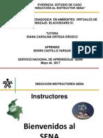 Inducción Instructor Virtual - Sena