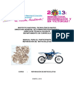 Manual Reparación de Motos