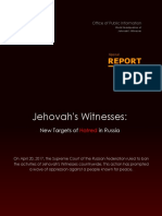 Special Report - JW Targets of Hatred in Russia