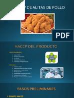 HACCP Alitas de Pollo