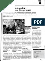 Funktionales Engineering Bietet Signifikante Einsparungen; Eplan; 2009-10