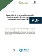 Metodologia Observatorios Turisticos II
