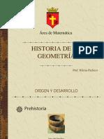 Hist Geometría