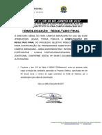 011 Seletivo Professor MARAC Edital Nº 092016