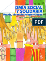 Economia Social y Solidaria. Praxis, vivencias e intenciones