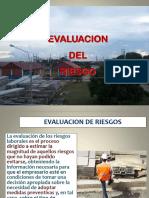 Sesión 7.-Análisis y Evaluación Del Riesgo