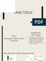 Hand Tools Ppt